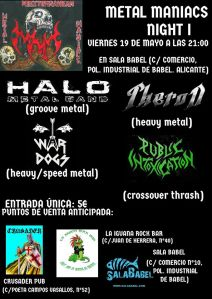 metalmaniacs night